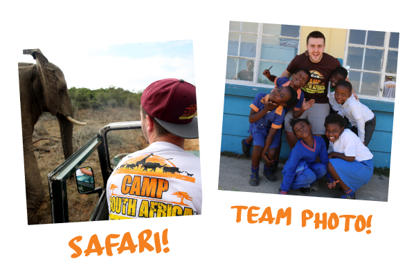 Camp South Africa. Make a Real Difference to a Community that needs it whilst having the Adventure of  a Lifetime!