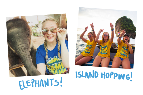 Camp Thailand! Get involved in Elephant Conservation, Help to Teach in Local Schools and Explore the Wonders of Thailand!</strong></a></span></p>