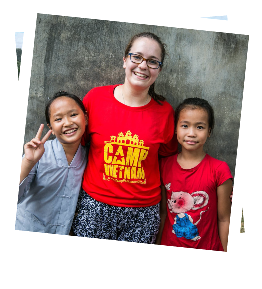 Camp Vietnam helps give children opportunities for a better life